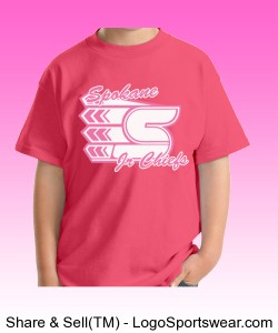 Youth Pink T-shirt Design Zoom