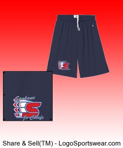 Adult Navy Shorts Design Zoom